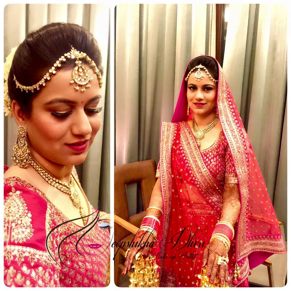 Bride Shoot by Deepshikha Dhiri Bridal-makeup | Weddings Photos & Ideas