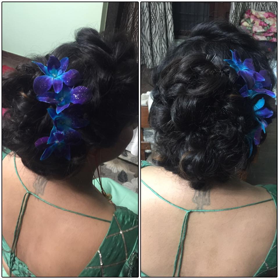 Hairstyle of a bride by Deepshikha Dhiri Wedding-photography   Weddings Photos & Ideas