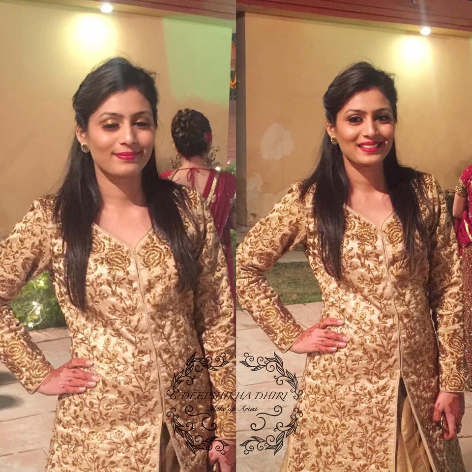 Bride in Golden Attire by Deepshikha Dhiri Wedding-photography   Weddings Photos & Ideas