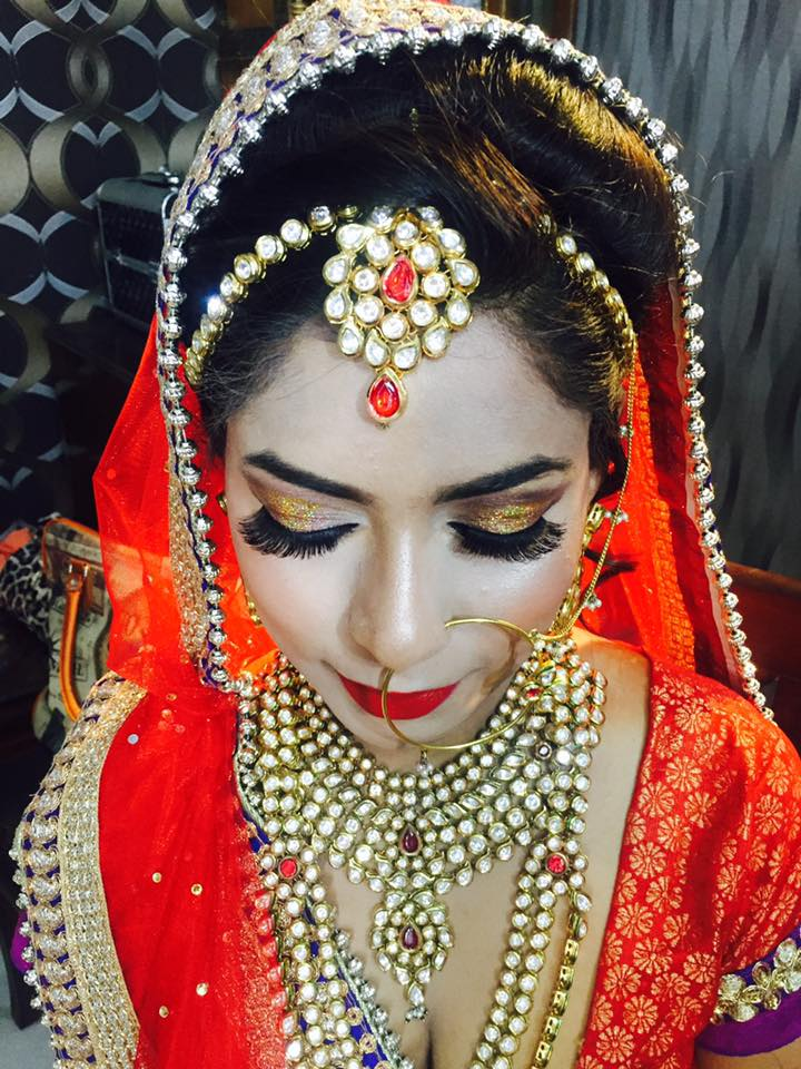 Grandeur bridal glance by Aarti Makker professional Makeup Artist Bridal-makeup | Weddings Photos & Ideas