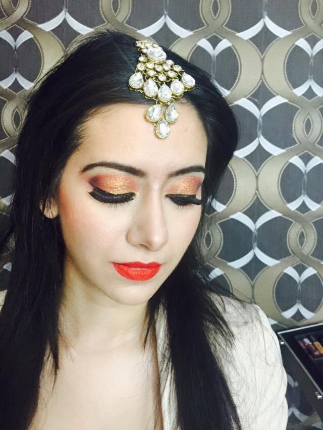 Shimmering eyed glance by Aarti Makker professional Makeup Artist Bridal-makeup | Weddings Photos & Ideas