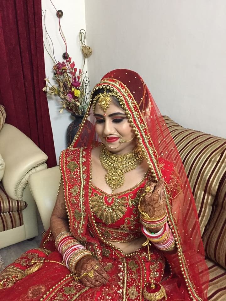 Bridal look of the day by Richa Malik Bridal-makeup | Weddings Photos & Ideas