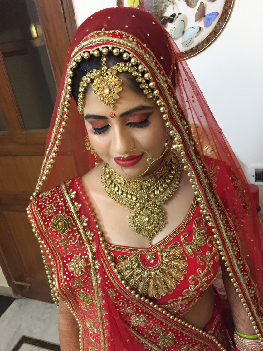 More of traditional classics! by Richa Malik Bridal-makeup | Weddings Photos & Ideas