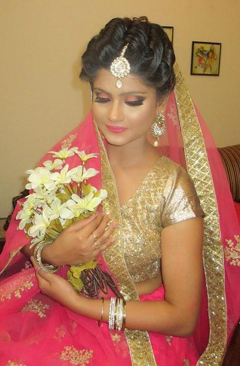 Gleam and Beam! by Richa Malik Bridal-makeup | Weddings Photos & Ideas