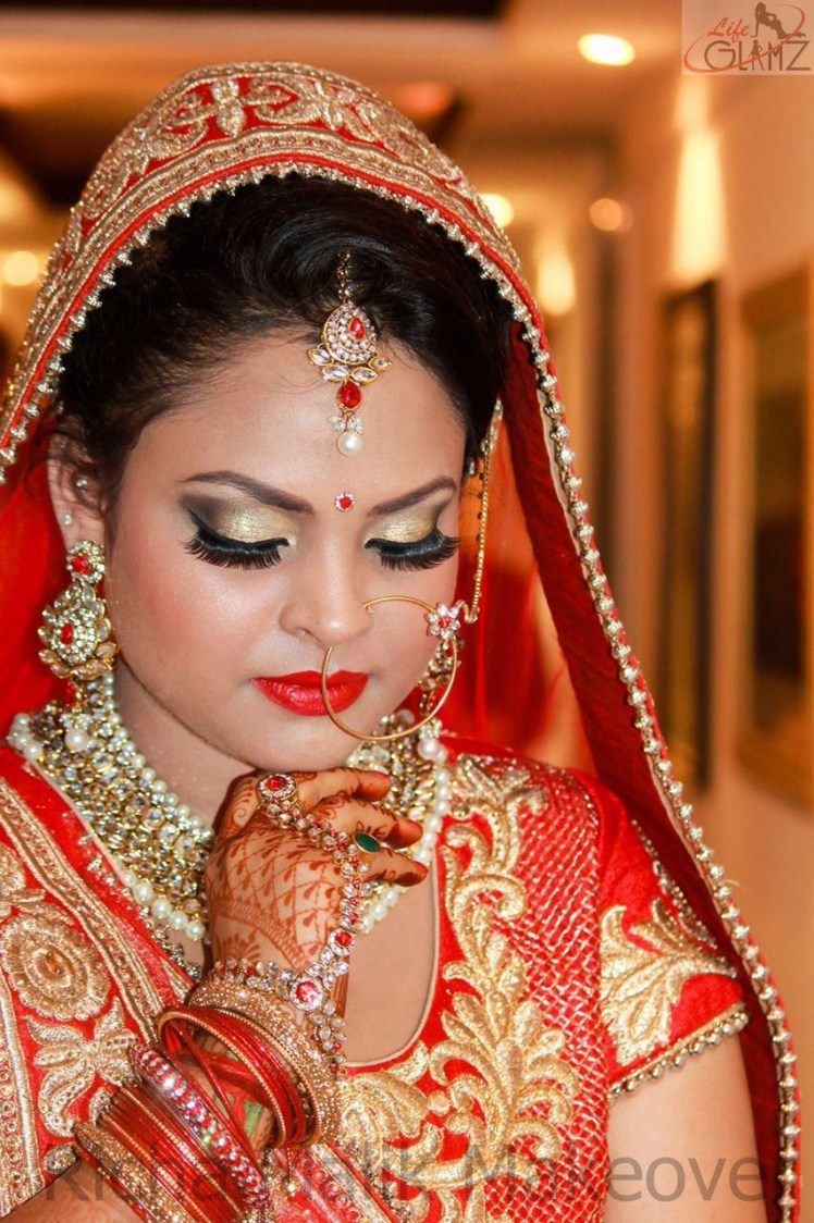 Makeup ideas for perfect bridal look by Richa Malik Bridal-makeup | Weddings Photos & Ideas