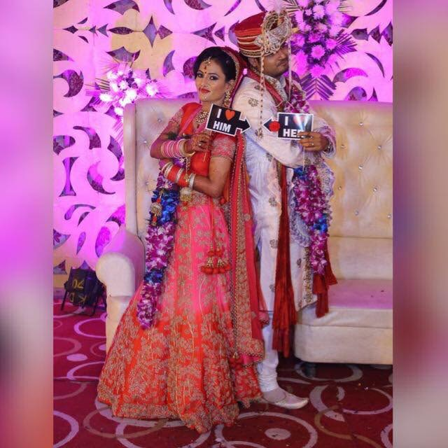 Couple happily hitched by Richa Malik Wedding-photography | Weddings Photos & Ideas