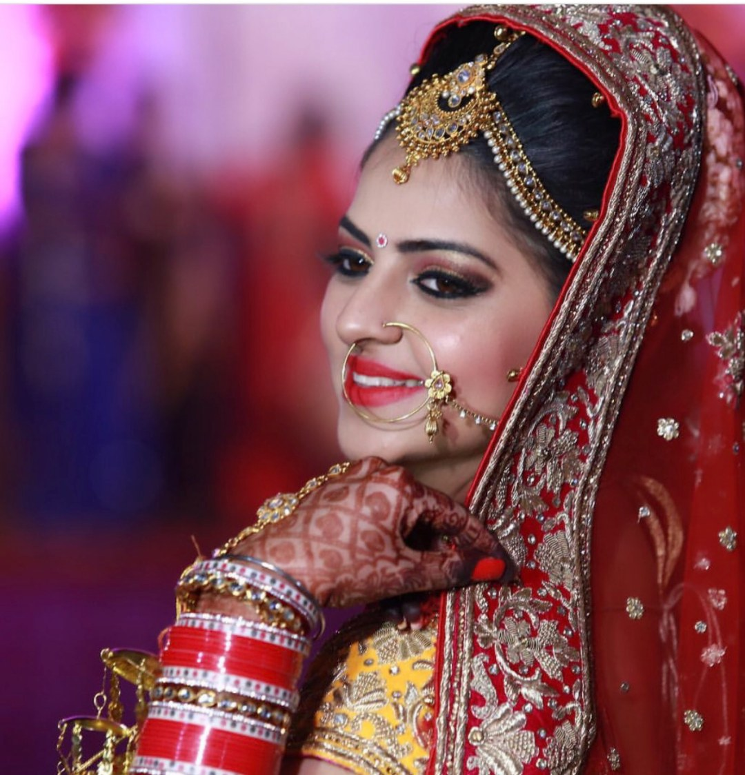Head string on point! by Richa Malik Bridal-makeup | Weddings Photos & Ideas