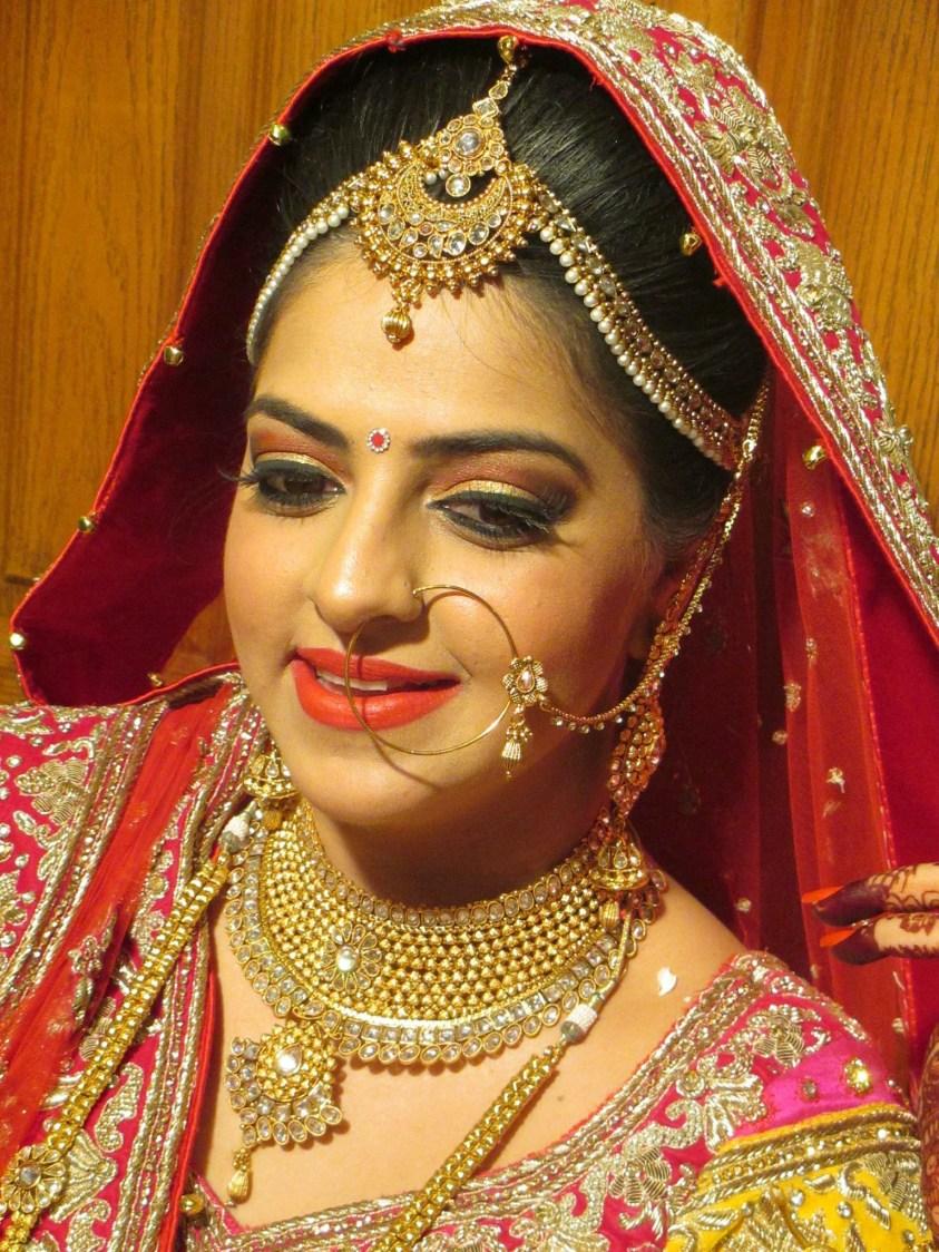 Bridal jewelry on point! by Richa Malik Bridal-makeup | Weddings Photos & Ideas