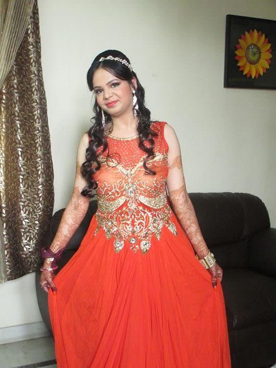 Bride in rubicund red by Richa Malik Wedding-photography | Weddings Photos & Ideas