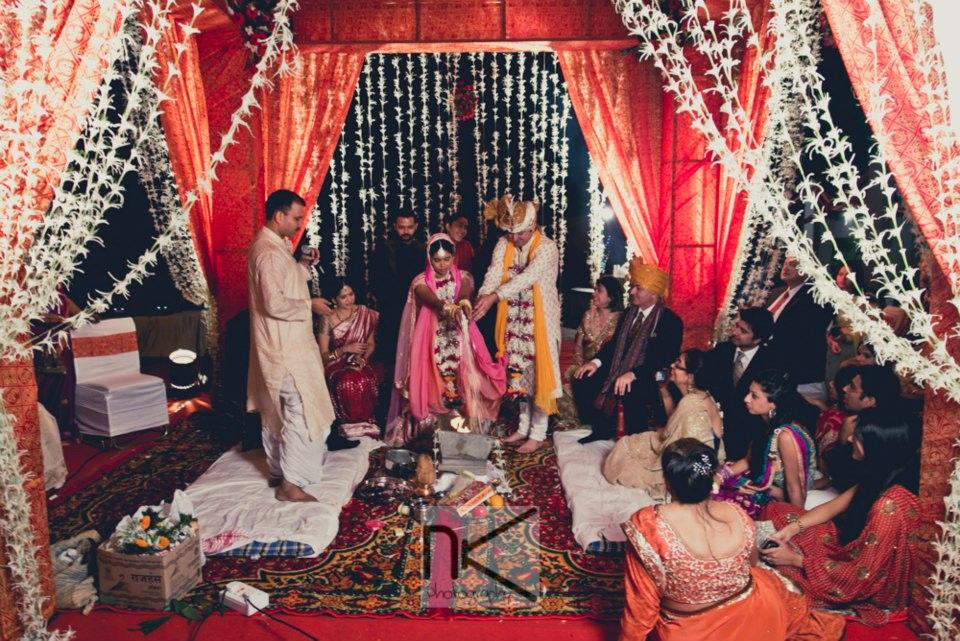 The ceremonies begin in full swing by Nikhil Kapur Photography Wedding-photography | Weddings Photos & Ideas