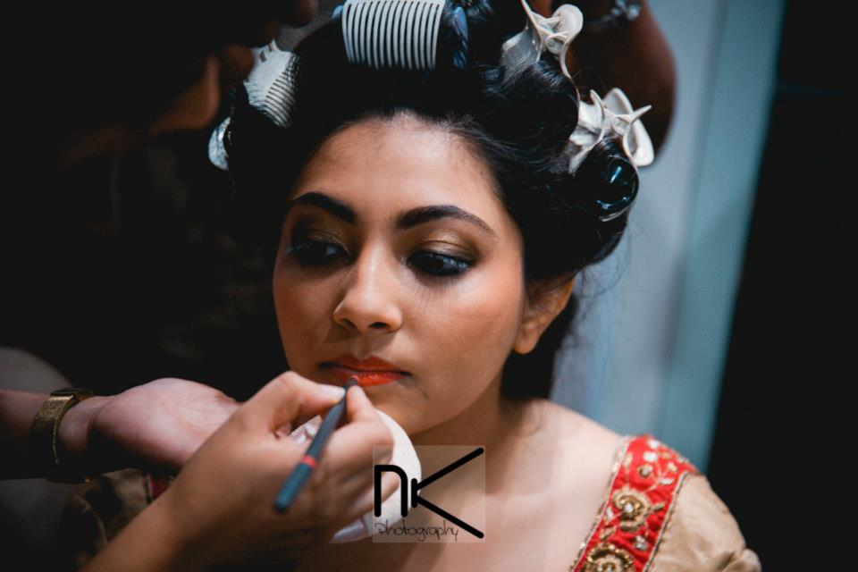 The bride prepares herself for the day by Nikhil Kapur Photography Wedding-photography | Weddings Photos & Ideas