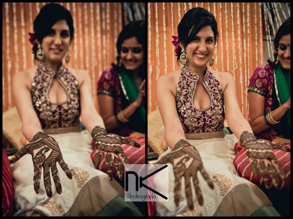 Mehndi ceremony takes place in full swing by Nikhil Kapur Photography Wedding-photography | Weddings Photos & Ideas