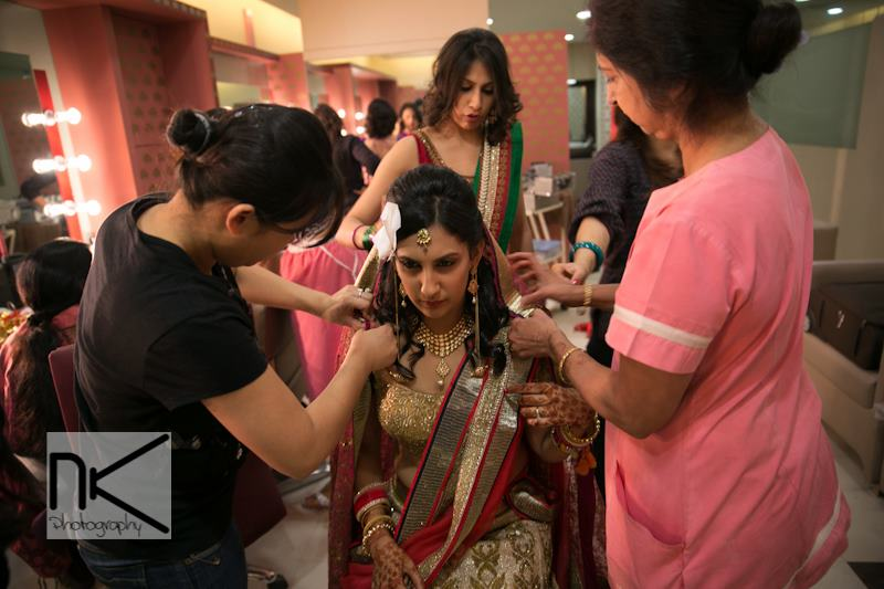 The pampered bride by Nikhil Kapur Photography Wedding-photography | Weddings Photos & Ideas