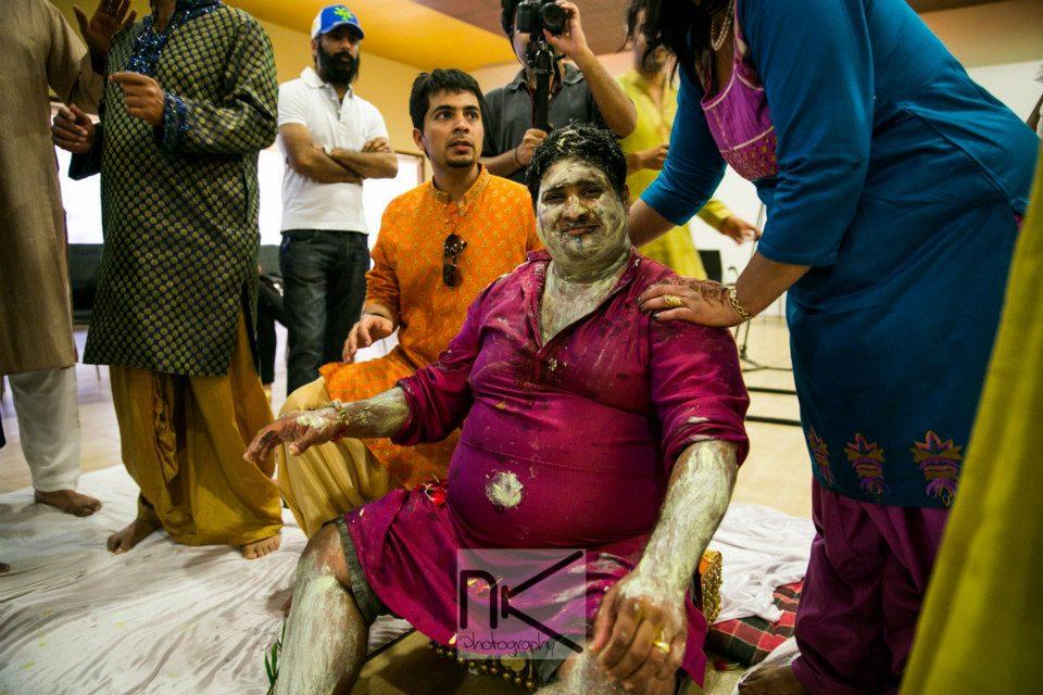Haldi ceremony goes well by Nikhil Kapur Photography Wedding-photography | Weddings Photos & Ideas