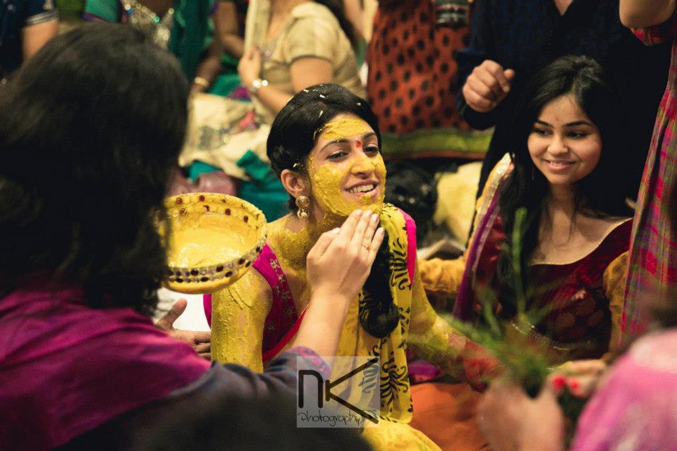 Haldi Mixed With Love by Nikhil Kapur Photography Wedding-photography | Weddings Photos & Ideas