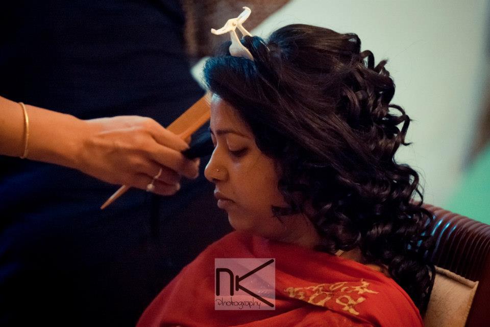 Make up preparations by Nikhil Kapur Photography Wedding-photography | Weddings Photos & Ideas