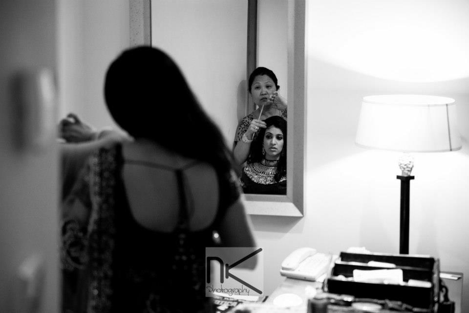 Makeup and preparations by Nikhil Kapur Photography Wedding-photography | Weddings Photos & Ideas