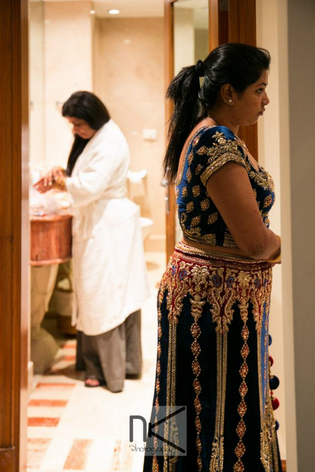 The bride caught candid by Nikhil Kapur Photography Wedding-photography | Weddings Photos & Ideas