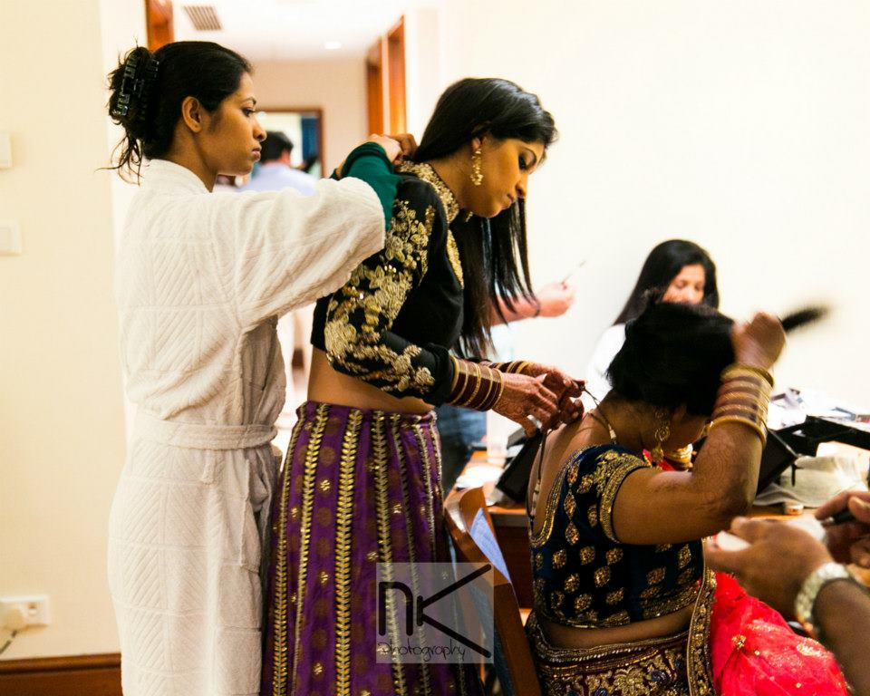 The preparations go on in full swing by Nikhil Kapur Photography Wedding-photography | Weddings Photos & Ideas