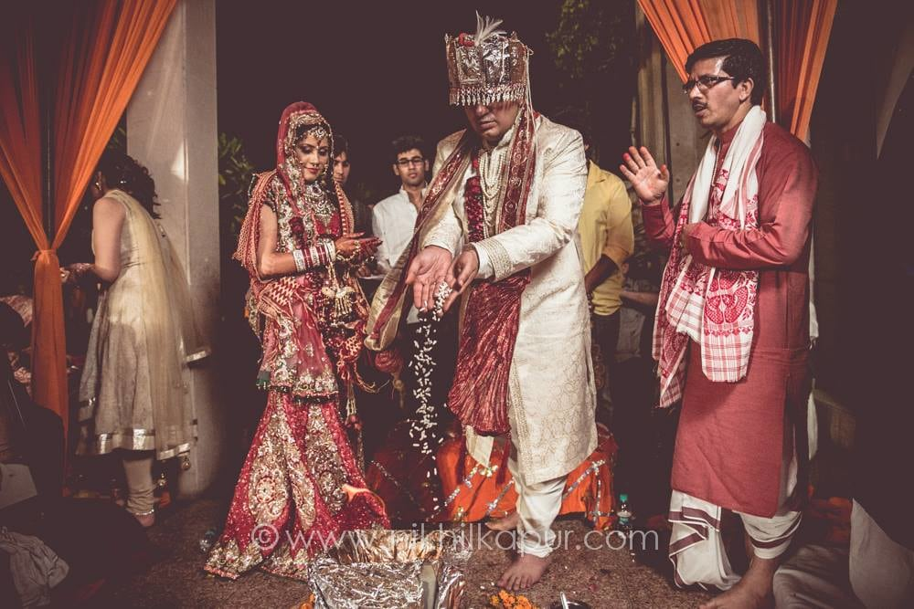 The ceremony goes on  in full swing by Nikhil Kapur Photography Wedding-photography | Weddings Photos & Ideas