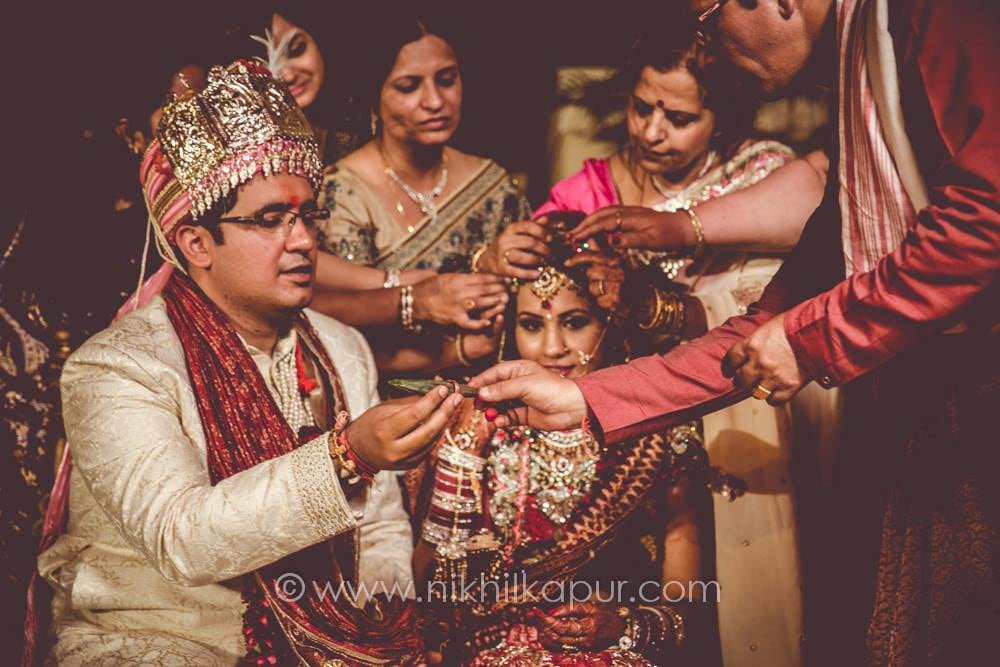 The traditions take place by Nikhil Kapur Photography Wedding-photography | Weddings Photos & Ideas
