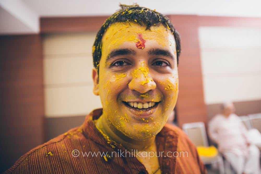 Haldi on the groom by Nikhil Kapur Photography Wedding-photography | Weddings Photos & Ideas