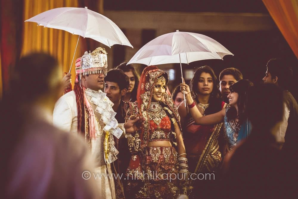The bride takes the show by Nikhil Kapur Photography Wedding-photography | Weddings Photos & Ideas