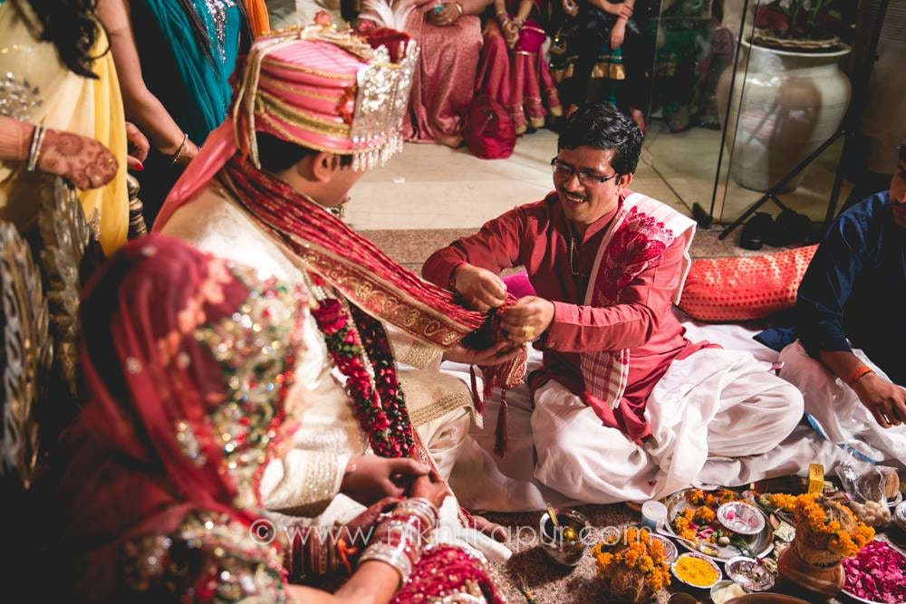 The ceremony takes place by Nikhil Kapur Photography Wedding-photography | Weddings Photos & Ideas