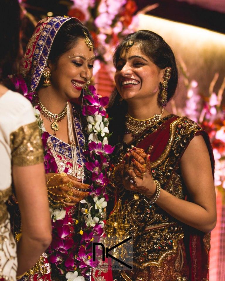 The Bride And Her Bridesmaid by Nikhil Kapur Wedding-photography | Weddings Photos & Ideas