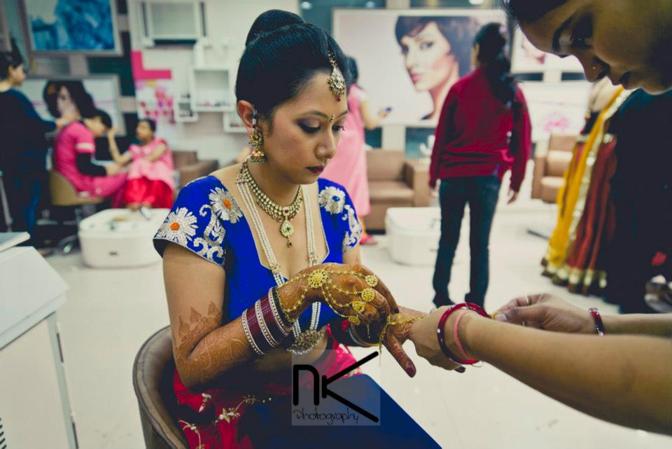 The Candid Bridal Look by Nikhil Kapur Wedding-photography | Weddings Photos & Ideas