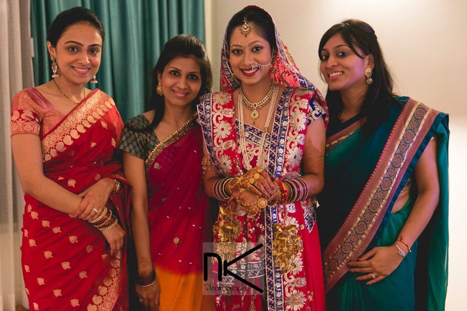 The Bride With Her Friends by Nikhil Kapur Wedding-photography | Weddings Photos & Ideas