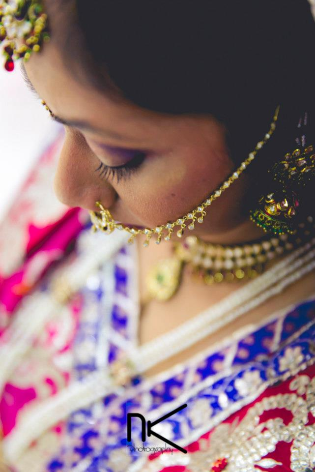 Delicate Stone Nath by Nikhil Kapur Wedding-photography | Weddings Photos & Ideas