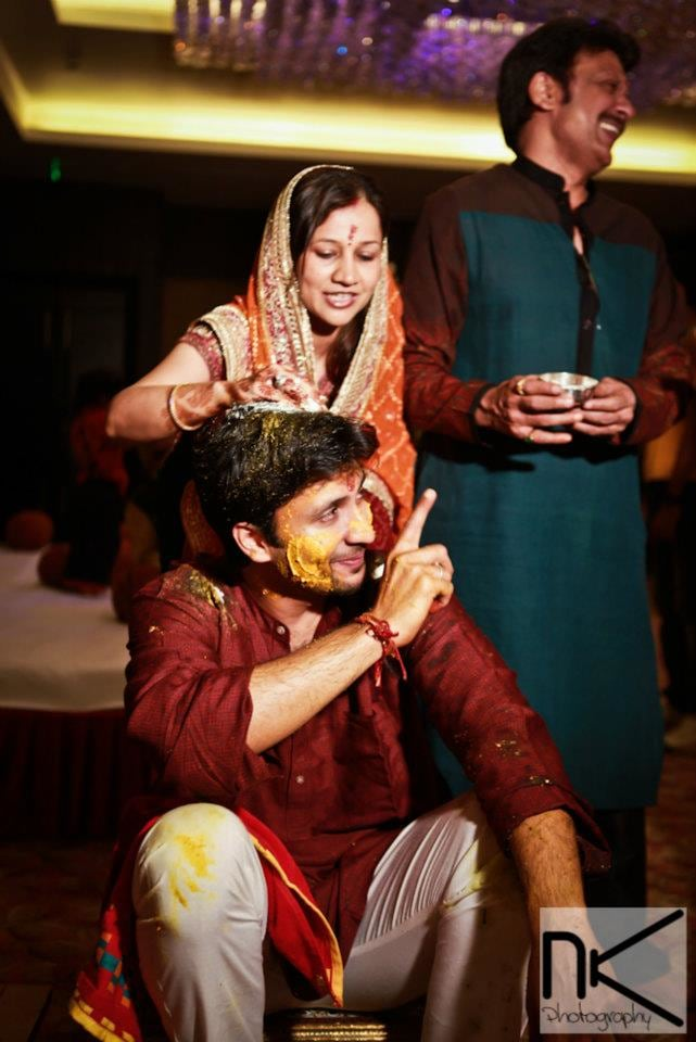 Haldi Ceremony On Point by Nikhil Kapur Wedding-photography | Weddings Photos & Ideas