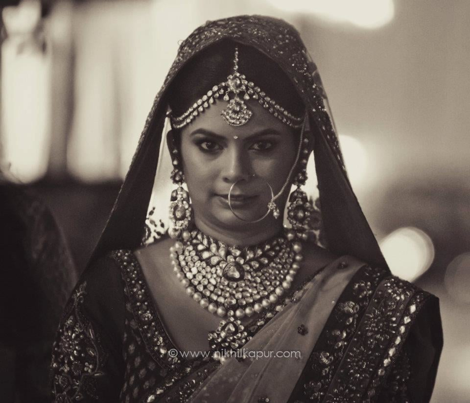 The perfect bridal shot by Nikhil Kapur Photography Wedding-photography | Weddings Photos & Ideas
