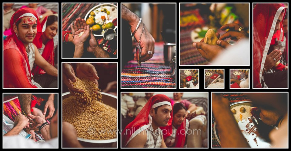 The ceremonies begin with the groom at the helm by Nikhil Kapur Photography Wedding-photography | Weddings Photos & Ideas