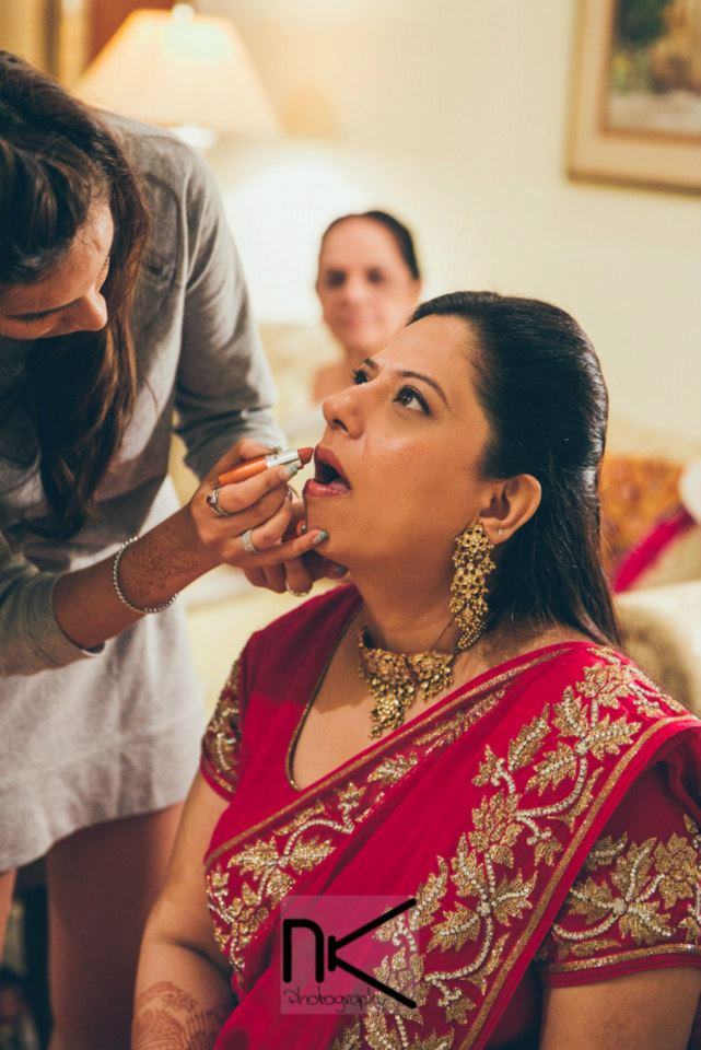Bridal makeup on point by Nikhil Kapur Photography Wedding-photography | Weddings Photos & Ideas