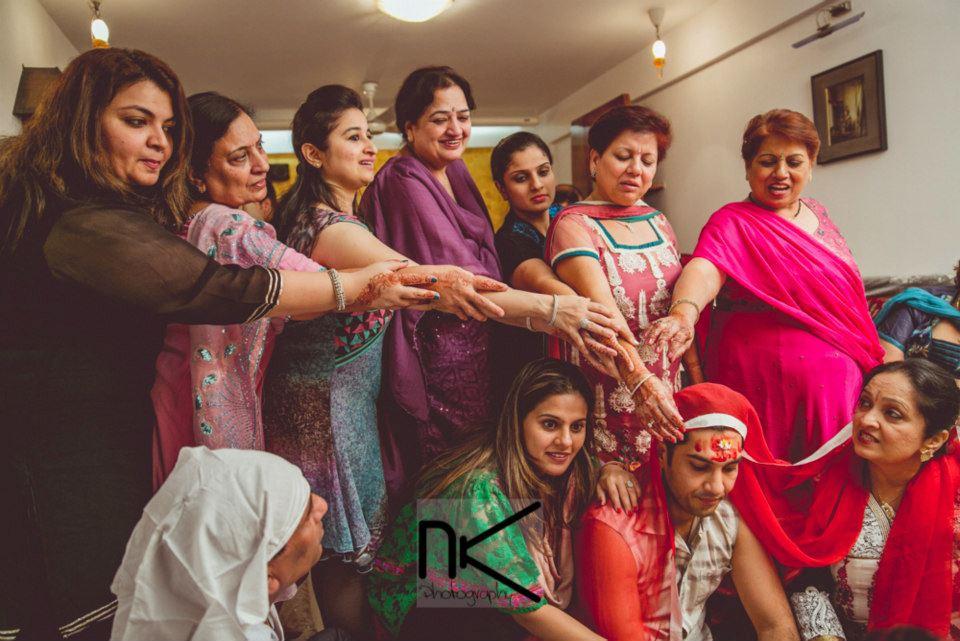 The groom goes through it all by Nikhil Kapur Photography Wedding-photography   Weddings Photos & Ideas
