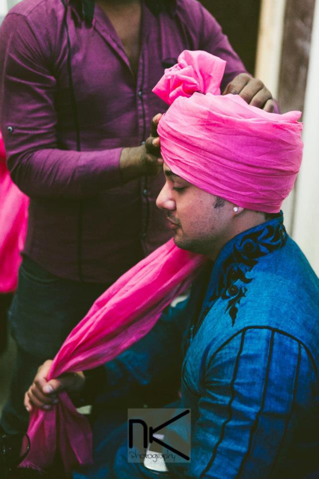 The groom prepares himself for the day by Nikhil Kapur Photography Wedding-photography | Weddings Photos & Ideas