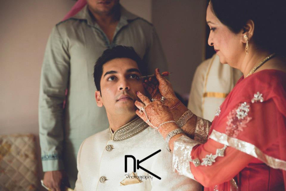 The groom prepares for the day by Nikhil Kapur Photography Wedding-photography | Weddings Photos & Ideas