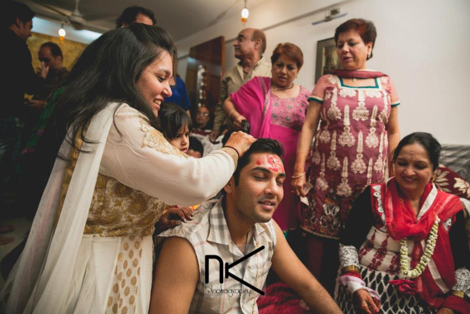The groom prepares himself for the day by Nikhil Kapur Photography Wedding-photography | Weddings Photos & Ideas