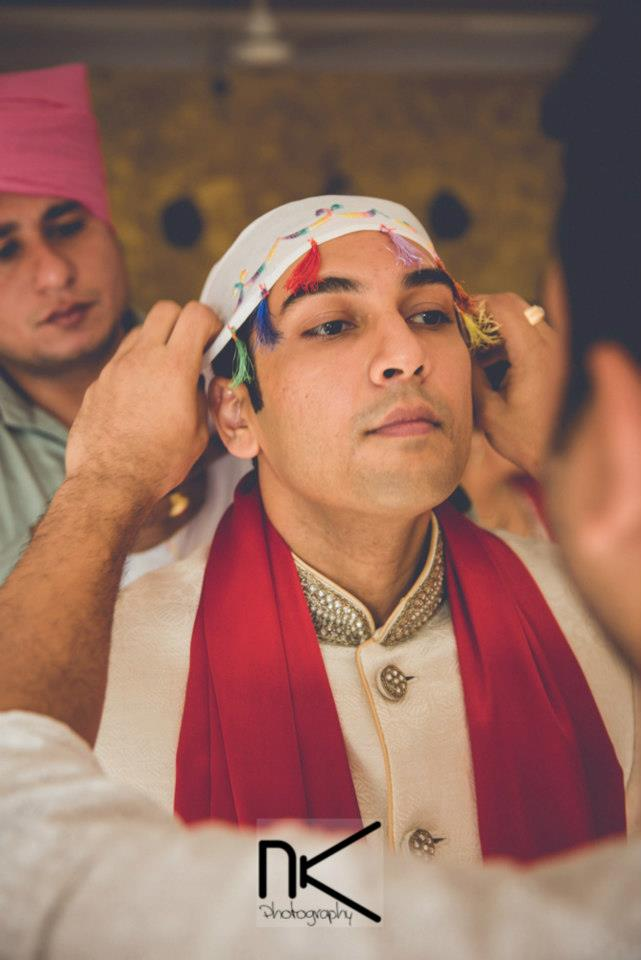 The groom gets ready for the day by Nikhil Kapur Photography Wedding-photography | Weddings Photos & Ideas