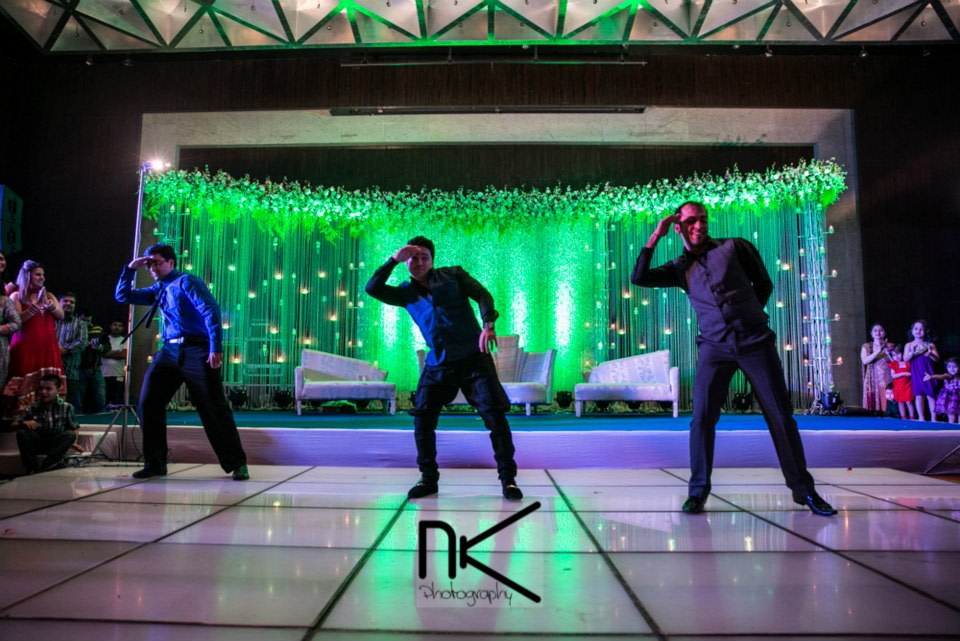 The dancers grace the occasion by Nikhil Kapur Photography Wedding-photography   Weddings Photos & Ideas