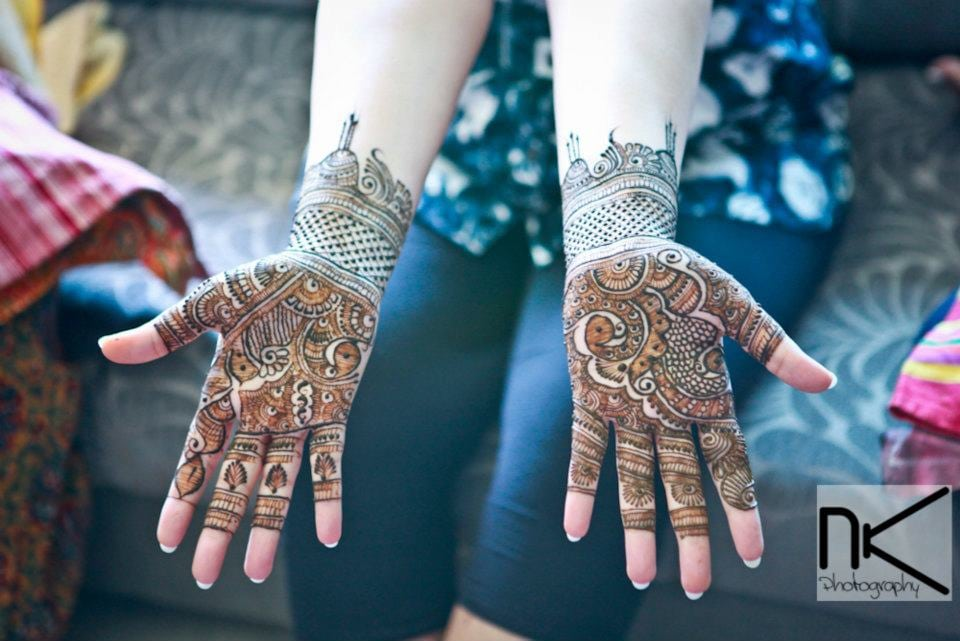 Mehndi look on point by Nikhil Kapur Photography Wedding-photography | Weddings Photos & Ideas