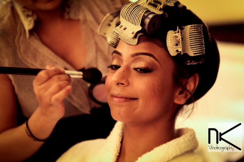 The bride prepares for the day by Nikhil Kapur Photography Wedding-photography   Weddings Photos & Ideas