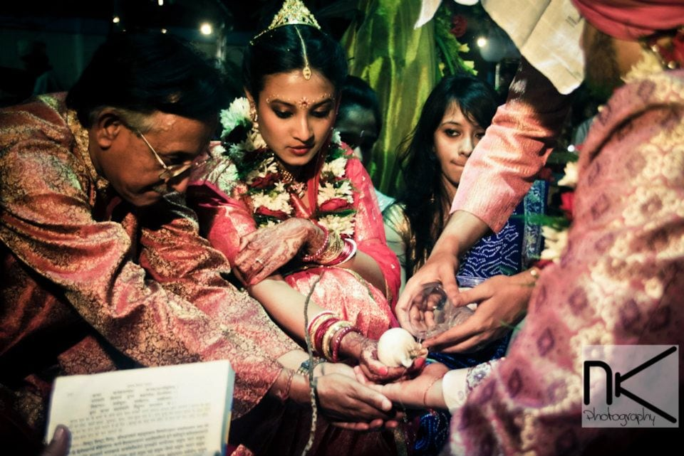 The Ritual Takes Place by Nikhil Kapur Wedding-photography | Weddings Photos & Ideas