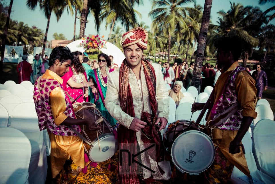 Jovial Groom Entry by Nikhil Kapur Photography Wedding-photography | Weddings Photos & Ideas