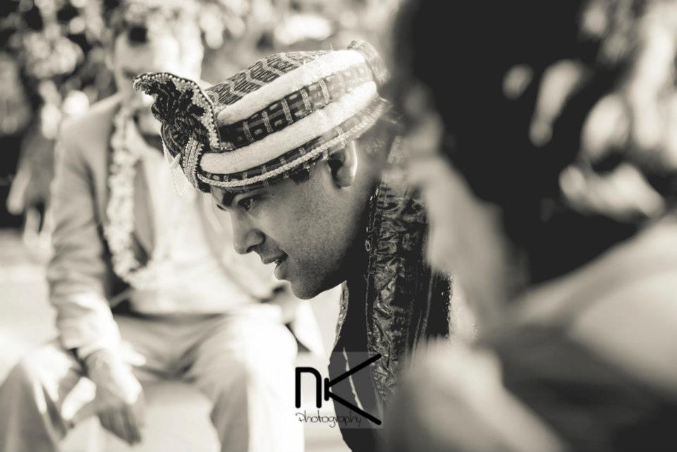 Candid shot of Indian groom by Nikhil Kapur Photography Wedding-photography | Weddings Photos & Ideas