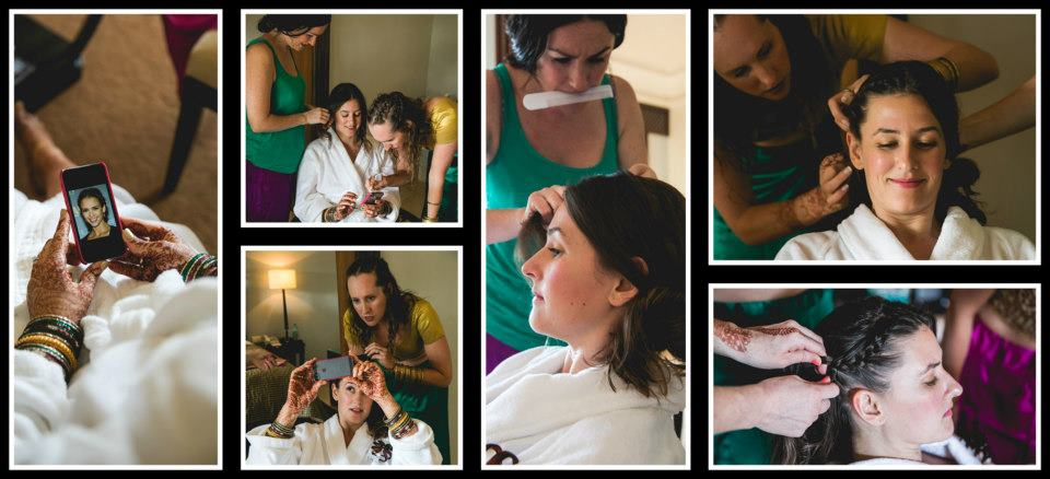 Grooming the Bride by Nikhil Kapur Photography Wedding-photography | Weddings Photos & Ideas
