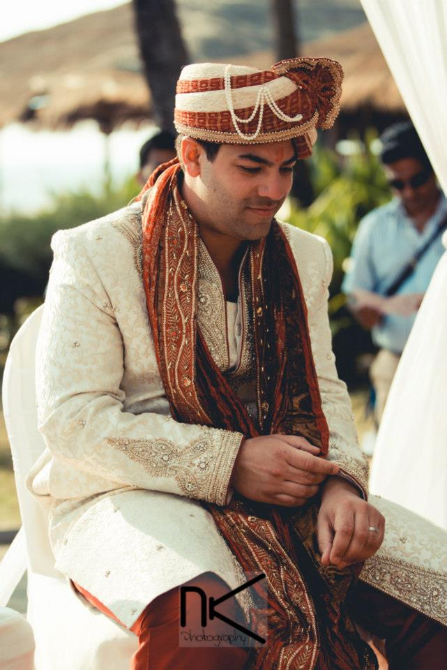 Beaming Groom by Nikhil Kapur Photography Wedding-photography | Weddings Photos & Ideas