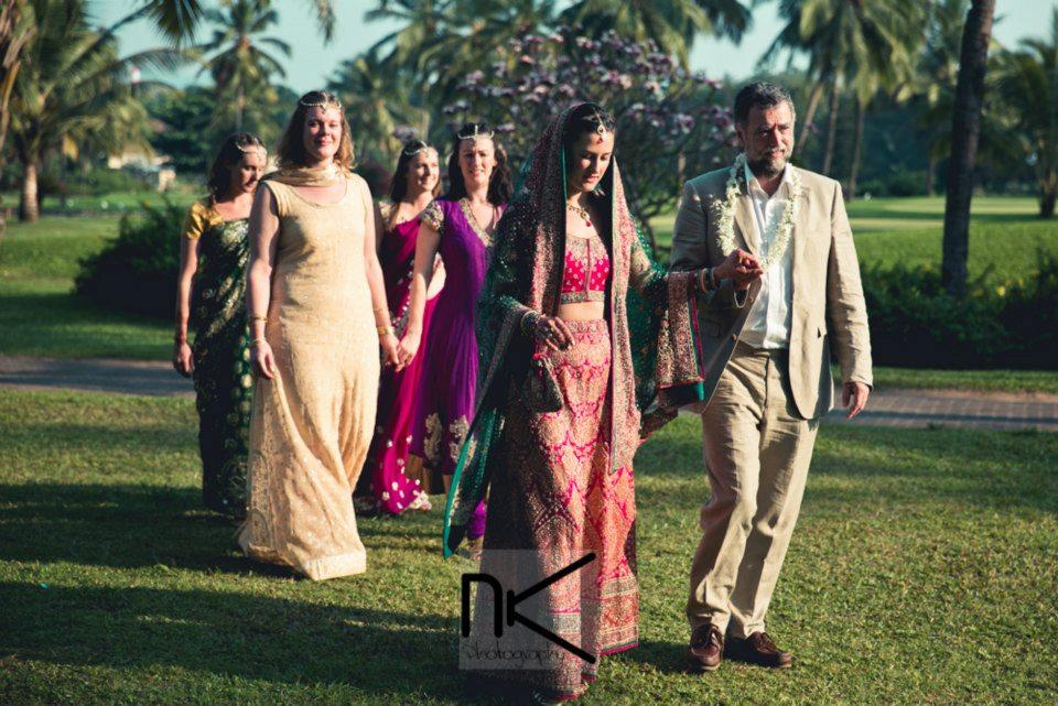 Traditional Aisle Walk by Nikhil Kapur Photography Wedding-photography | Weddings Photos & Ideas